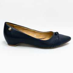 Sapato Bottero 306909 Liliane couro atanado Marinho