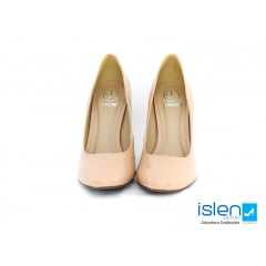 Sapato Dumond 4113394 Soft Verniz Nude