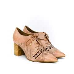 Sapato Oxford Verofatto Beatriz 6010623 Couro Atanado