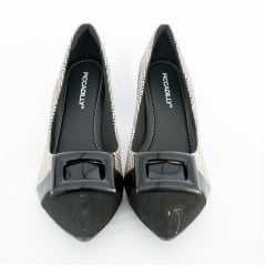 Sapato Piccadilly 746015 Soft Step Xadrez