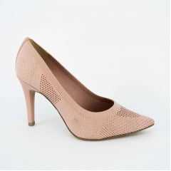 Sapato Scarpin Tanara T1746 Malha Rosa