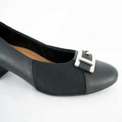 Sapato Usaflex AB6504 Soft Slim Linha Care Joanetes