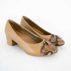 Sapato Usaflex AB6505 Mamba Camel