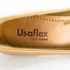 Sapato Usaflex AB6602 Batik Camel
