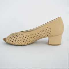 Sapato Usaflex AB6506 Soft Slim Blush Linha Triple Care