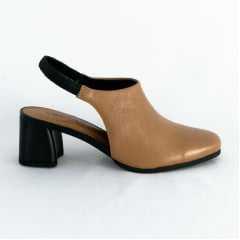 Sapato Usaflex AC3604 Slingback Pelica Camel
