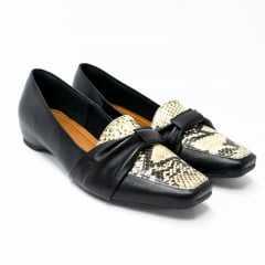 Sapato Usaflex AD0204 Couro natural Pelica