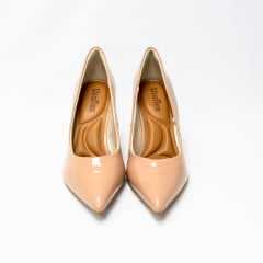 Sapato Usaflex AD0601 Scarpin Clássico Luxor Verniz Brilhante