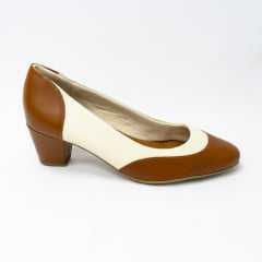 Sapato Usaflex AD1008 Vegetal Modelo Clássico