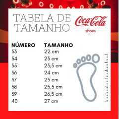 Tênis Coca-Cola CC1877 Atlanta Tail modelo classico