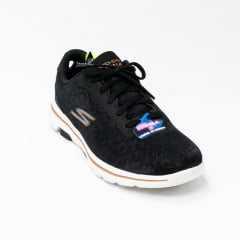 Tênis Skechers 124029 Go Walk 5 Wild com tecido Lurex