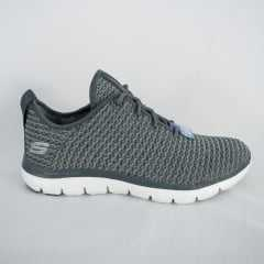Tênis Skechers 12773 Flex Appeal 2.0 Bold Move Cinza