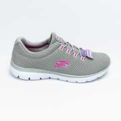 Tênis Skechers 12985 Summits Quick Lapse Cinza/Pink