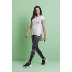 Legging Rola Moça 06271 Reversível 2 em 1 Jeans