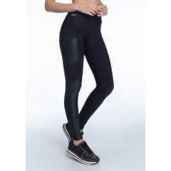 Legging Rola Moça 06390 Body Fit Preta