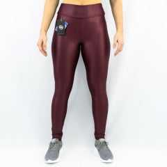 Legging Rola Moça 06391 Action Fit Cirre Brilhosa