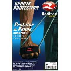 Protetor de Palma Realtex 0705 Mini Luva para academia