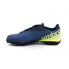 Chuteira Umbro Society Speed II Marinho/Lime/Azul