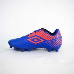 Chuteira Umbro 827663 Striker V Royal/Fiery Campo Oficial