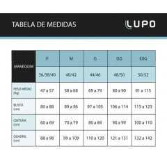 Camisa Lupo 70045-001 T-Shirt térmica de alta compressão