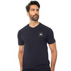 Camiseta Adidas FL4003 Clean 100% Algodão - Ideal para pessoas com alergia a outros tecidos