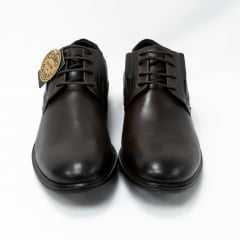 Sapato Ferracini 4561-480H Couro legítimo linha 24h