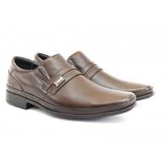 Sapato Masculino Pipper Couro/Solado EVA Marrom