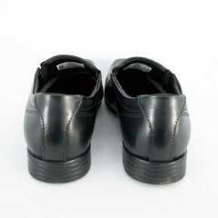 Sapato Pegada 124613-01 Anilina Preto Social Liso