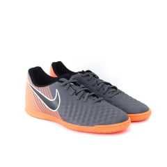 Tênis Nike Magista Obrax 2 Club IC Futsal Chumbo/Laranja