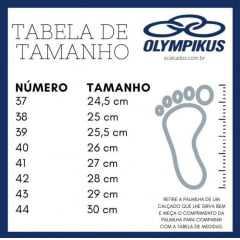 Tênis Olympikus 4349850 Garra com cabedal MicroFuros