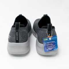 Tênis Skechers 232106 UltraFlex 2.0 Mirkon em Tecido Stretch Fit Carvão/Preto