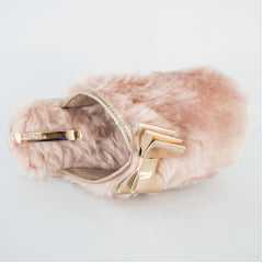 Pantufa Molekinha 2314.202 Pelo Premium Rosa