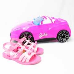Sandália Grendene 22166 Barbie Car