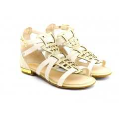 Sandália Kidy 144-0096 Marfim/Ouro