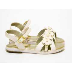 Sandália Kidy Amar e Baby Marfim/Ouro 15600813330