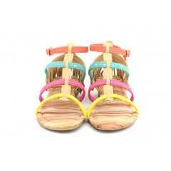 Sandália Pink Cats W8653 Avelã Girassol