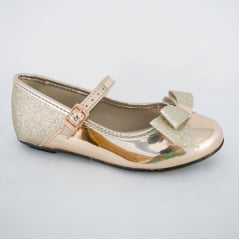 Sapatilha Molekinha 2052.391 Metal Glitter