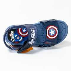 Sandália Grendene 21998 Marvel Hero Glasses Capitão América Azul