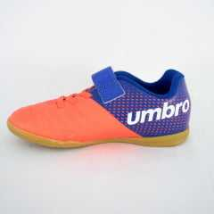 Tênis Umbro 0F82054 Spirity JR Futsal Coral