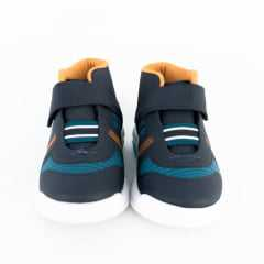 Tênis Kidy 034-0068-9085 Hoox Baby Respi-Tec Velcro Marinho
