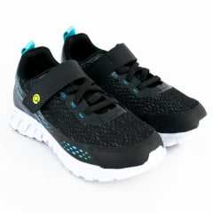 Tênis Ortopé 22780015 Jogging College com Velcro Preto